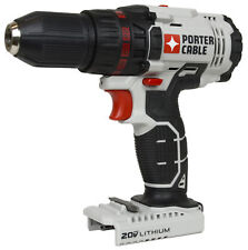 "Porter Cable PCC601 20V 1/2"" Lithium Ion Cordless Drill Driver with LED"