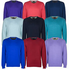 Marks and Spencer Men's Regular Cotton Crew Neck Jumpers & Cardigans
