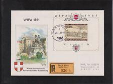 Echte Briefmarken-Ersttagsbriefe (ab 1945) mit österreichische