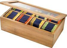 WESTMARK Teebox Vorratsbehälter für Tee in wertigem Holzkistchen