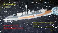 Vorentwurf II/10 Deutschland-Klasse      1/700 Bird Models Bausatz / resin kit