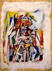 Willem de Kooning WOMAN I. 1950-52 Limited Edition Giclee Art Print