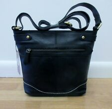 "Born ""Izabel"" Bucket Crossbody Handbag"