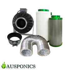 4 INCH Hydroponics Ventilation System - DUCT FAN/DUCTING/FILTAROO FILTER/CLAMP