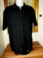Polo coton noir manches courtes CAMEL ACTIVE XXXL brodé logo