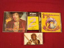 JIMI HENDRIX AXIS BOLD AS LOVE RADIO 1 ARE YOU EXPERIENCED 4 LOT CDs + CASSETTES