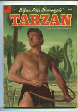 Edgar Rice Burroughs Tarzan #45 Vg 1953 Dell Comics Sa