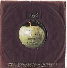 MARY HOPKIN - GOODBYE Very rare 1969 New Zealand APPLE Single Release!