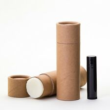 Kraft Deodorant / Balm  Tubes | 2.5  OUNCE  | Paperboard Push Up Containers