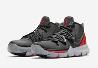 2019 NIKE KYRIE 5 BRED UNIVERSITY RED/BLACK AO2919-600 IRVING BASKETBALL SHOES