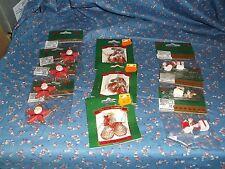 Nip Miniature Christmas Ornaments Sants Bells Other Minis U Chose