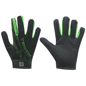 Kooga Elite Mini/Junior Rugby Full/Long Fingered Silicon Grip Gloves/Mitts/Mits