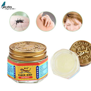 Original Jar Tiger Balm White Ointment 60 g  ~ ARTHRITIS MUSCLE JOINT PAIN New