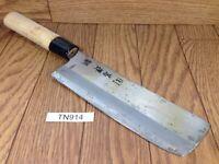 Japanese Chef's Kitchen Knife NAKIRI HOCHO Vintage / from Japan 167/300mm TN914