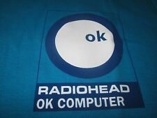 RADIOHEAD OK COMPUTER RARE RECORD STORE PROMO TEE SHIRT SMALL UNUSED
