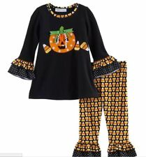 Bonnie Jean Baby Girls' Halloween Ghost Knit Tunic and Leggings Set New Size 24M