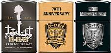 Zippo D-DAY 3 Set 70th Anniversary Commemorative Lighter 1944 Very Rare NEW