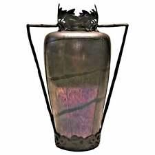 After Loetz, Jugendstil Iridescent Art-Glass Flower Vase, ca. 1900