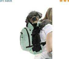 Nwt K9 Sport Sack Dog Carrier & Backpack Air Plus Summer Mint Med Ret $95