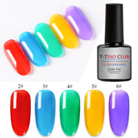 7ML Jelly UV Gel Nail Polish Soak Off Clear Gel Varnish Manicure DIY T-TIAO CLUB