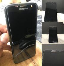 Endommagé Samsung Galaxy S7 Edge G935F Noir Écran LCD Authentique Bonne Verre