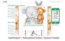 Auktionsvorlage Teddy Neutral Mobil Responsive Template eBay Vorlage 629