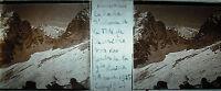 Platte Foto Stereoskopische Fotografie -kopf Charrière Alpen 1925