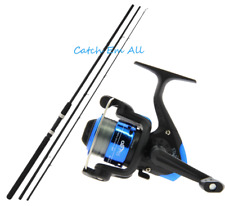 New 10ft Float Fishing Rod and Star 20 Fishing Reel With 8lb Line Coarse Fishing