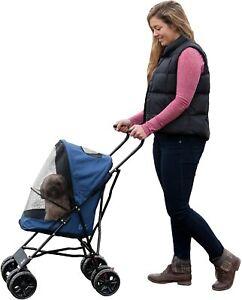 PetGear - Pet Gear Travel Lite Stroller Buggy PushChair  Navy - NQP
