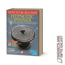 HYPNOTIC SPINNER HYPNOTISES OPTICAL ILLUSION TRICK toy gift novelty childs adult