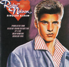 RICKY NELSON: THE SINGLES ALBUM – 20 TRACK CD, BEST OF / GREATEST HITS