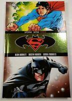 Superman Batman Torment 2008 DC Comics Hardcover Alan Burnett