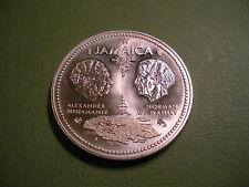 1972 Jamaica 10 Dollar .925 Silver Coin  ( Unc)