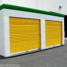 DuroSTEEL JANUS 14'W x 12'T Insulated 3100i Series Wind Rated Rollup DOOR DiRECT