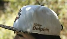 Leopard Print Pink Dolphin Snapback Baseball Hat
