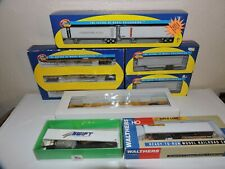 Intermodal ,Trailer Train Lot, Ho Scale Walthers Athearn ATSF, BN, UP, SP NS