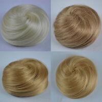 EE_ EG_ WOMEN'S WEDDING BRIDAL COSPLAY FALSE HAIR BUN WIG CHIGNON HAIRPIECE SPEC