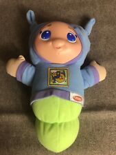 Musical Lullaby Gloworm Glow Worm Hasbro Playskool Infant Toddler Boy Blue