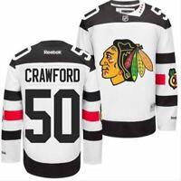 Chicago Blackhawks #50 Corey Crawford Stadium Series Jersey
