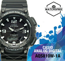 Casio Analog Digital Tough Solar Watch AQS810W-1A AQ-S810W-1A AU FAST & FREE