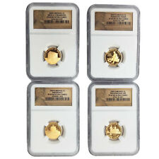 2009-S NGC Bronze PF 69 RD Ultra Cameo Penny Cent 4 Coin Proof Set!
