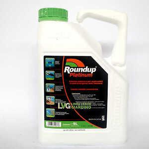 ROUNDUP PLATINUM Weed killer Glyphosate 5 L