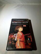 Spirited Away Vhs 2003 Disney Clamshell Hayao Miyazaki Studio Ghibli Anime