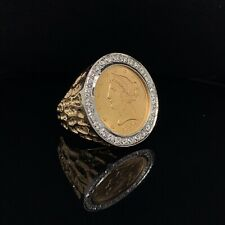 1899 $10 Liberty Coin Ring