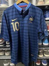 Nike France Karim Benzema Home Jersey / shirt Euro 2012 sz L Mint