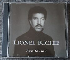 Lionel Richie, back to front, CD