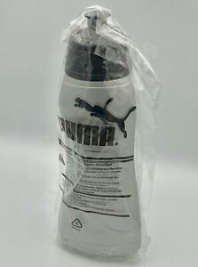 **NEW** PUMA COMPLETE BOTTLE SILVER/BLACK RUNNING JOGGING ACCESSORIES