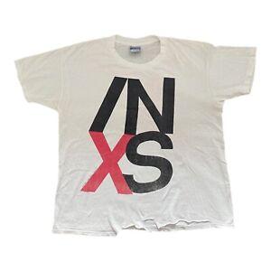 Vintage '91 INXS US tour Tee BROCKUM tag