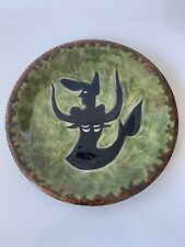 Jean Lurçat Vintage Ceramic Plate, signed and numbered.