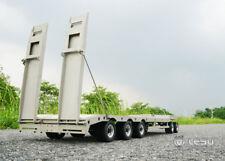 LESU TAMIYA RC Metal Trailer Plate for 1/14 Truck Model Car Stainless Steel